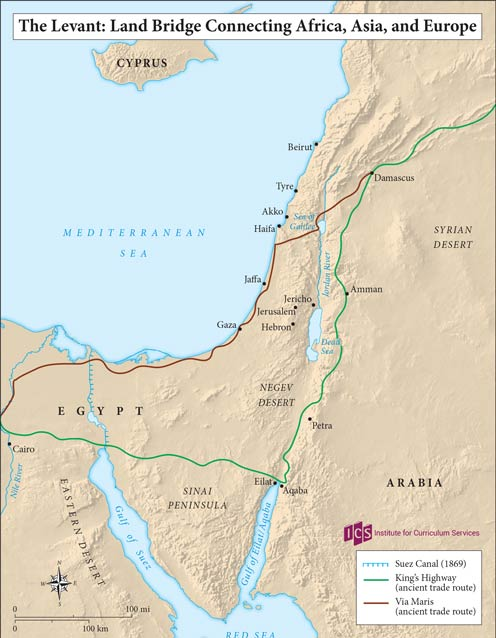 01 – Levant Land Bridge