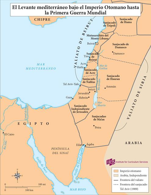 02 – El Levante mediterraneo bajo el Otomano