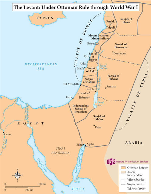 02 – Levant under the Ottomans
