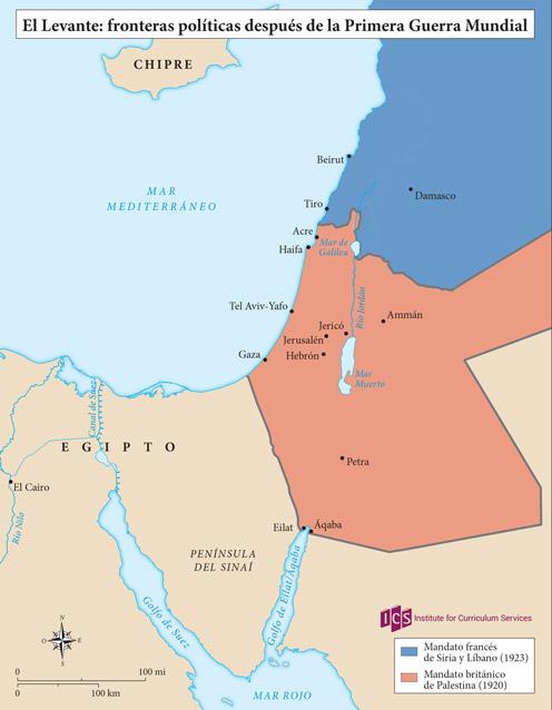 04 – El Levante después de la Primera Guerra Mundial