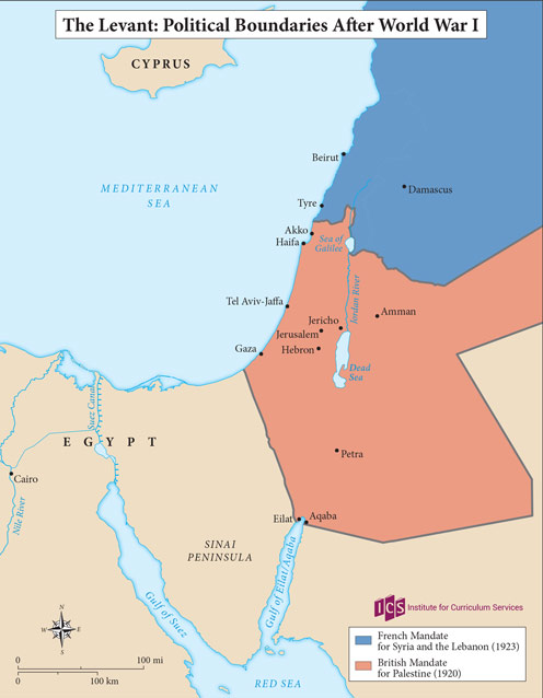04 – Levant after WW1
