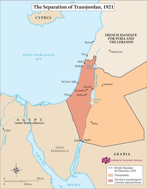 05 – Separation of Transjordan