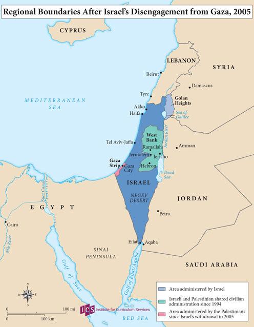 10 – Regional Boundaries 2005